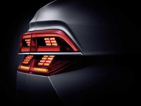 Close-up of Volkswagen Phideon 2017