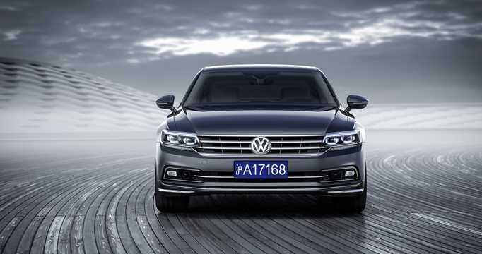Front  of Volkswagen Phideon 2017