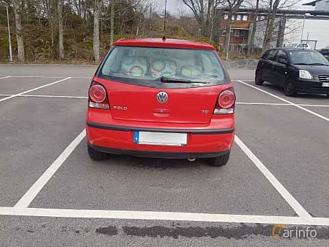 Back of Volkswagen Polo 3-door 1.4 TDI Manual, 80ps, 2006