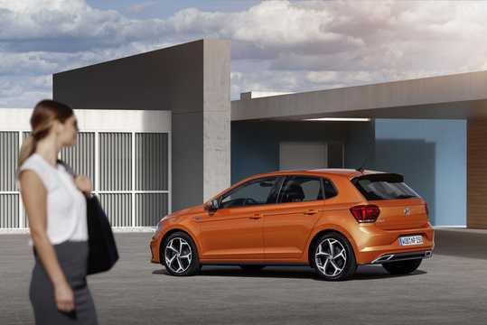 Back/Side of Volkswagen Polo 2018