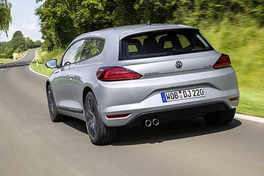 Back/Side of Volkswagen Scirocco 2015