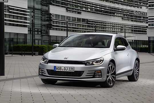 Front/Side  of Volkswagen Scirocco 2015