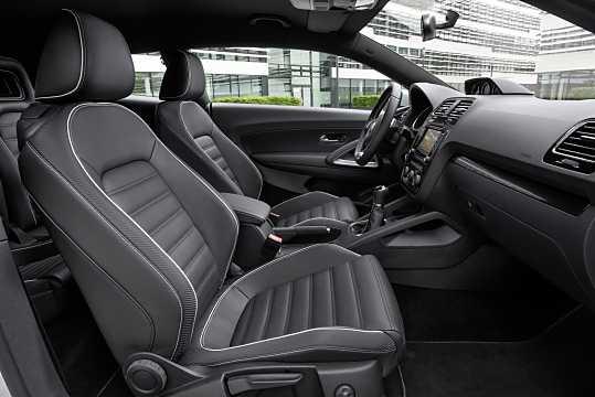 Interior of Volkswagen Scirocco 2015