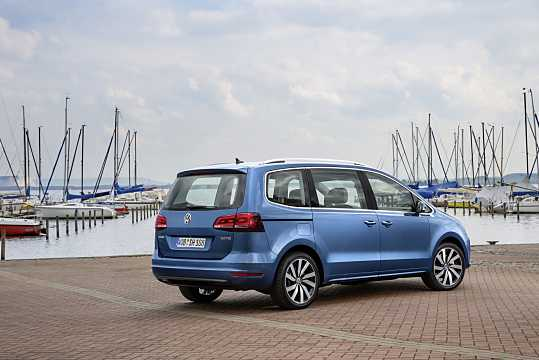 Back/Side of Volkswagen Sharan 2016