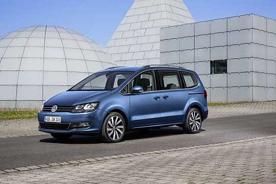 Front/Side  of Volkswagen Sharan 2016