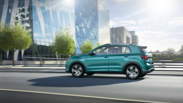 Back/Side of Volkswagen T-Cross 2019
