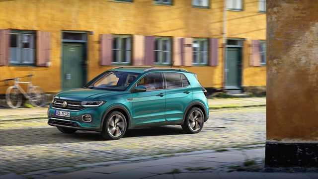 Front/Side  of Volkswagen T-Cross 2019