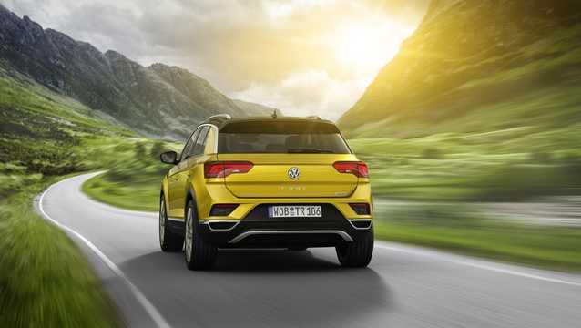 Back/Side of Volkswagen T-Roc 2018