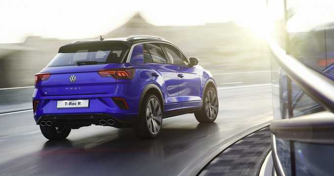 Back/Side of Volkswagen T-Roc R  DSG Sequential, 300hp, 2019