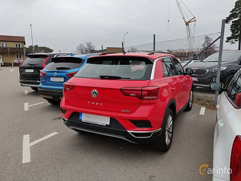 Back/Side of Volkswagen T-Roc 2.0 TDI 4Motion DSG Sequential, 150ps, 2019