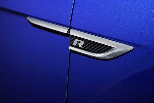 Close-up of Volkswagen T-Roc R  DSG Sequential, 300hp, 2019