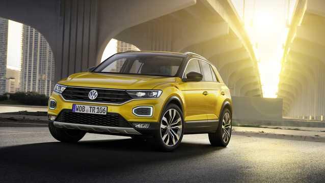 Front/Side  of Volkswagen T-Roc 2018