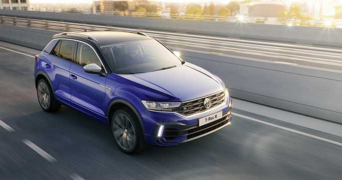 Front/Side  of Volkswagen T-Roc R  DSG Sequential, 300hp, 2019
