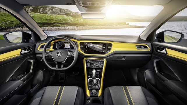 Interior of Volkswagen T-Roc 2018