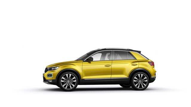 Side  of Volkswagen T-Roc 2018