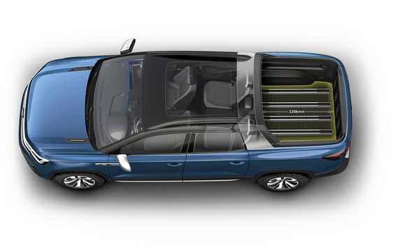 Top  of Volkswagen Tarok Concept