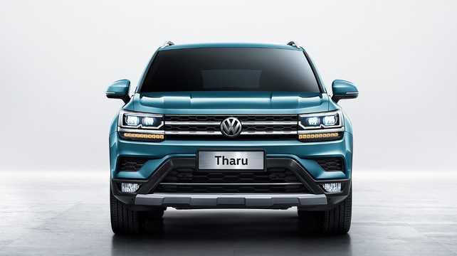 Front  of Volkswagen Tharu 2018