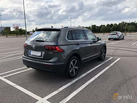 Back/Side of Volkswagen Tiguan 1.4 TSI BlueMotion 4Motion DSG Sequential, 150ps, 2018