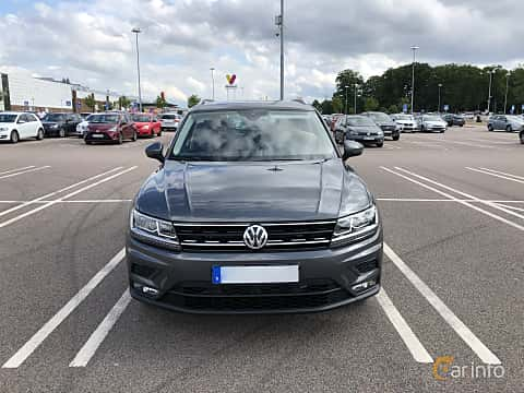Front  of Volkswagen Tiguan 1.4 TSI BlueMotion 4Motion DSG Sequential, 150ps, 2018