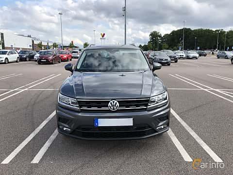 Fram av Volkswagen Tiguan 1.4 TSI BlueMotion 4Motion DSG Sequential, 150ps, 2018