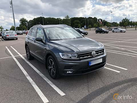 Front/Side  of Volkswagen Tiguan 1.4 TSI BlueMotion 4Motion DSG Sequential, 150ps, 2018