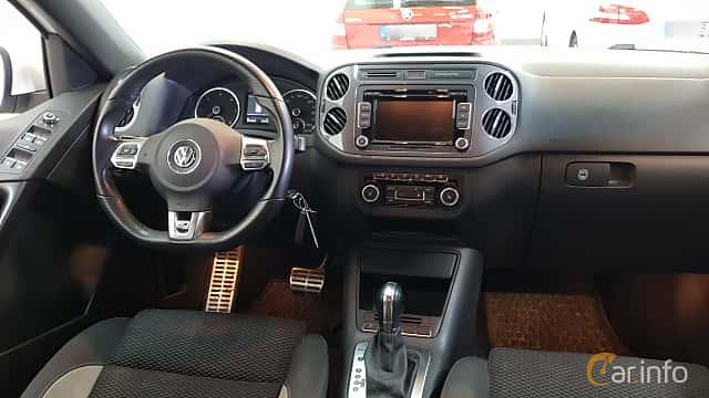 Interiör av Volkswagen Tiguan 2.0 TDI BlueMotion 4Motion DSG Sequential, 177ps, 2014