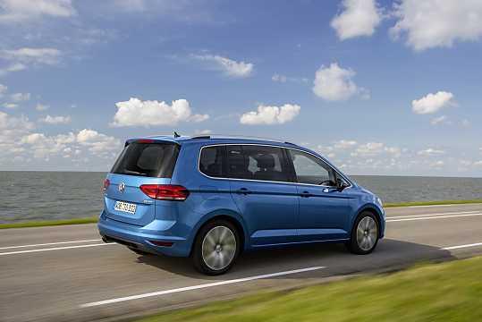 Back/Side of Volkswagen Touran 2016