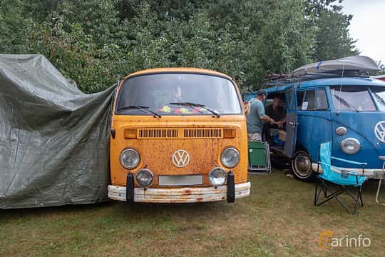 Front  of Volkswagen Transporter 2000 Double Cab 2.0 Manual, 71ps, 1978 at West Coast Bug Meet 2019
