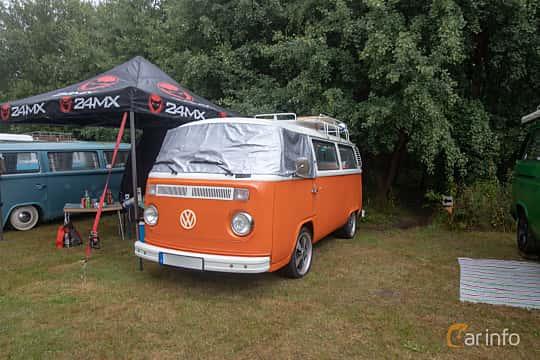 Front/Side  of Volkswagen Transporter 2000 2.0 Manual, 71ps, 1977 at West Coast Bug Meet 2019