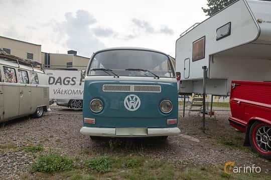 Front  of Volkswagen Transporter 1600 Minibus 1.6 Manual, 48ps, 1970 at West Coast Bug Meet 2019