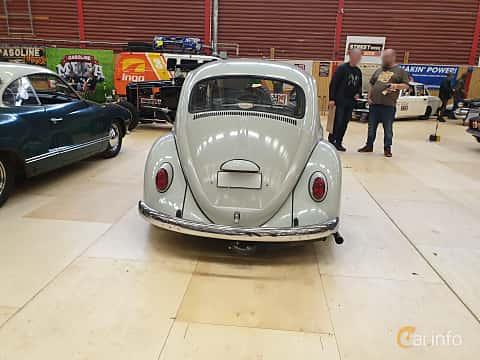 Back of Volkswagen 1200 1.2 Manual, 34ps, 1965 at Gasonline Mega Swapmeet Katrineholm  2019 Mars