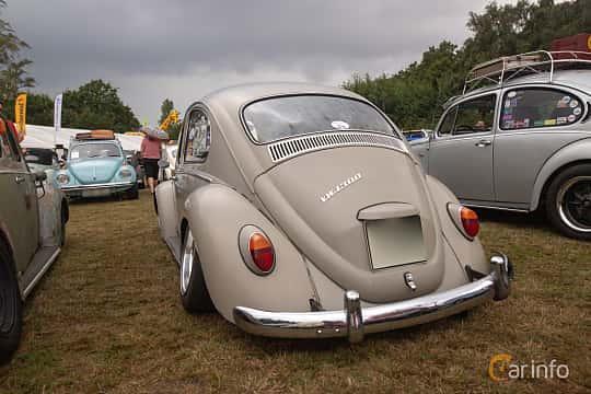 Back/Side of Volkswagen 1300 1.3 Manual, 41ps, 1966 at West Coast Bug Meet 2019