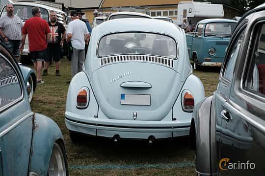Back of Volkswagen 1300 1.3 Manual, 41ps, 1970 at West Coast Bug Meet 2019