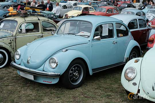 Front/Side  of Volkswagen 1302 1.3 Manual, 44ps, 1972 at West Coast Bug Meet 2019