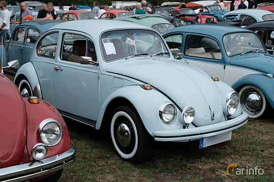 Front/Side  of Volkswagen 1300 1.3 Manual, 41ps, 1970 at West Coast Bug Meet 2019