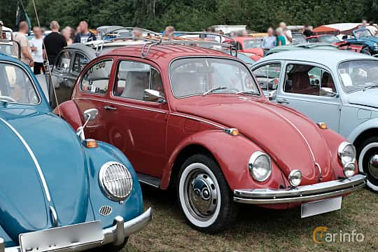Front/Side  of Volkswagen 1500 1.5 Manual, 44ps, 1969 at West Coast Bug Meet 2019