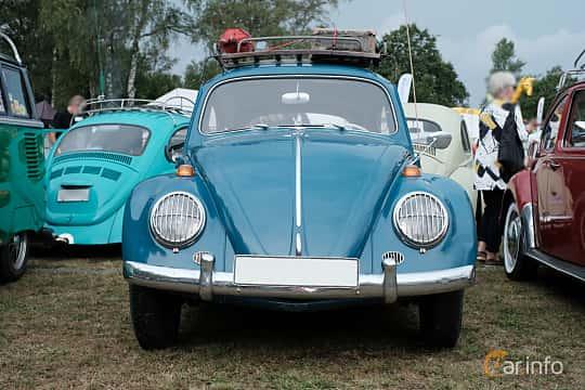 Front  of Volkswagen 1200 1.2 Manual, 34ps, 1964 at West Coast Bug Meet 2019