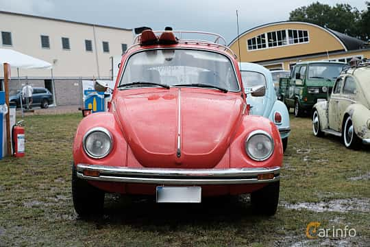 Front  of Volkswagen 1303 S 1.6 Manual, 50ps, 1975 at West Coast Bug Meet 2019
