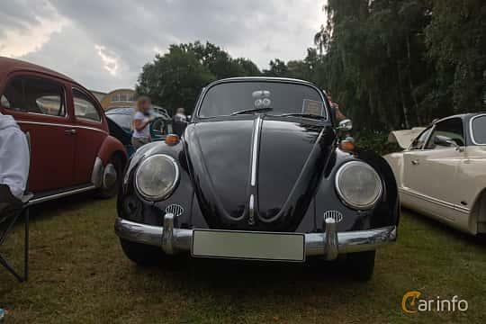 Front  of Volkswagen 1200 1.2 Manual, 34ps, 1965 at West Coast Bug Meet 2019