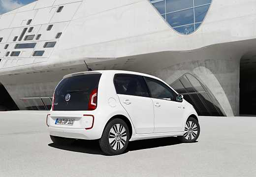 Back/Side of Volkswagen e-up! 18 kWh Single Speed, 82hp, 2015