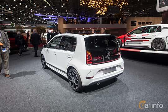 Bak/Sida av Volkswagen up! GTi 5-door 1.0 Manual, 118ps, 2018 på Geneva Motor Show 2018
