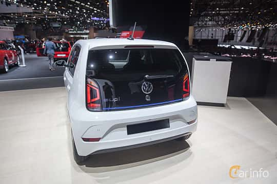 Back/Side of Volkswagen e-up! 18 kWh Single Speed, 82ps, 2018 at Geneva Motor Show 2018