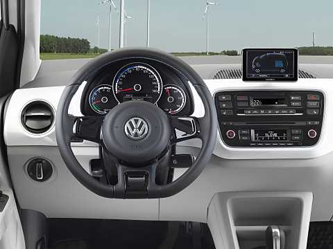 Interior of Volkswagen e-up! 18 kWh Single Speed, 82hp, 2015