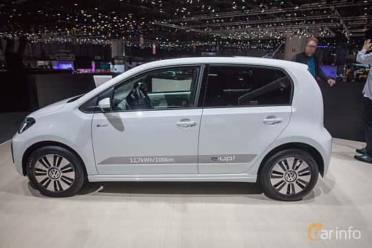 Sida av Volkswagen e-up! 18 kWh Single Speed, 82ps, 2018 på Geneva Motor Show 2018