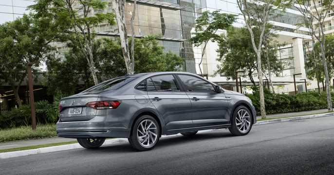 Back/Side of Volkswagen Virtus 2019