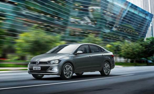 Front/Side  of Volkswagen Virtus 2019