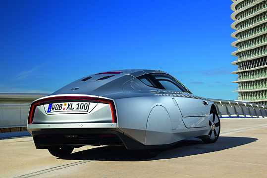 Back/Side of Volkswagen XL1 0.8 DSG Sequential, 48hp, 2015