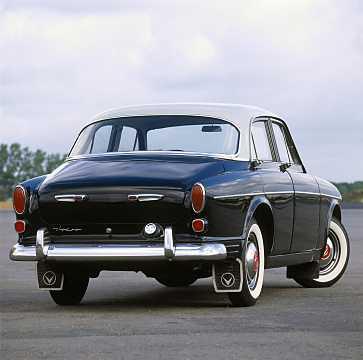Back/Side of Volvo 120 1st Generation