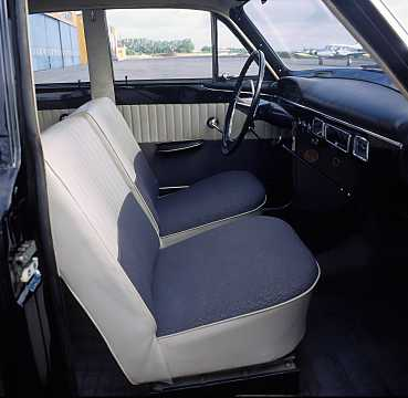 Interior of Volvo 120 1st Generation