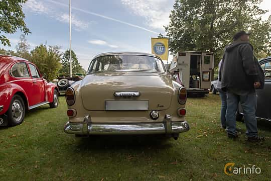 Back of Volvo Amazon 121 P130 1.8 Manual, 68ps, 1964 at Billesholms Veteranbilsträff 2019 augusti